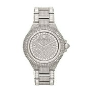 Michael Kors Women's Camille Crystal Stainless Steel Watch