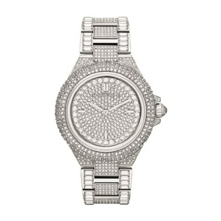 Michael Kors Women's Camille Crystal Stainless Steel Fashion Watch (Michael Kors Dealers)