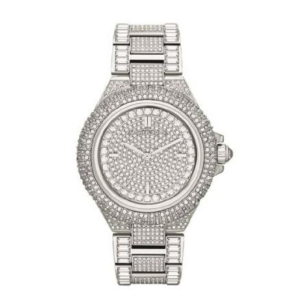 Michael Kors Women's Camille Crystal Stainless Steel Watch MK5869