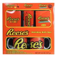 Reese Lovers Two Mug Christmas Gift Set, 5 Pieces