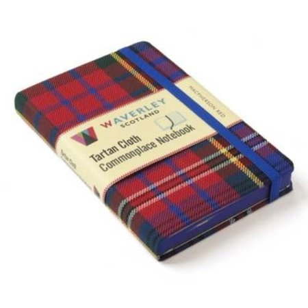 MacPherson Red : Waverley Genuine Scottish Tartan Notebook