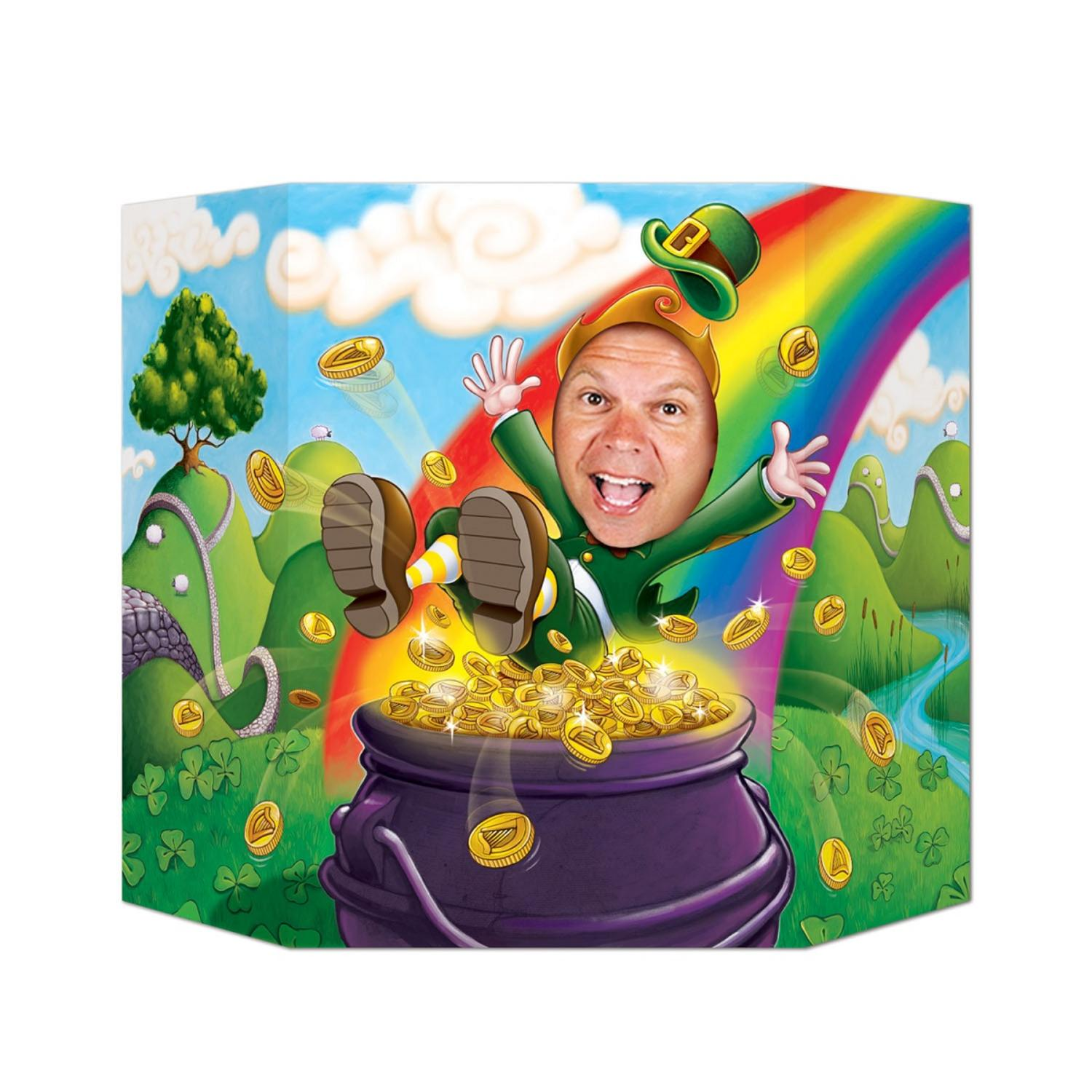 Pack of 6 St Patrick's Day Leprechaun Stand-up Photo Prop 3.1' x 2'