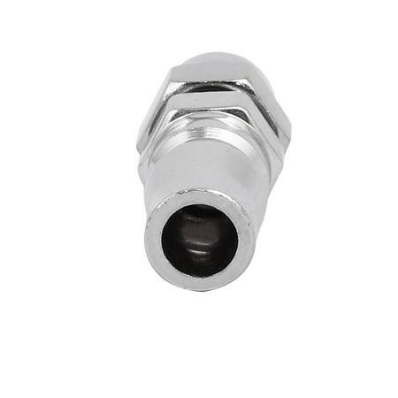 5pcs raccord rapide Zingué Accessoires Nettoyeur haute pression argenté - image 2 de 5