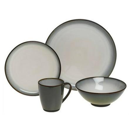 Sango Concepts 16 Piece Dinnerware Set - Avocado - Walmart.com