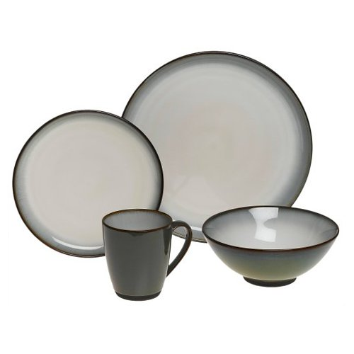 Sango Concepts 16 Piece Dinnerware Set - Avocado  sc 1 st  Walmart & Sango Concepts 16 Piece Dinnerware Set - Avocado - Walmart.com