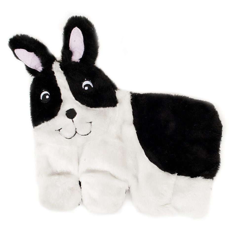 Boston Terrier Squeakie Pup Dog Toy
