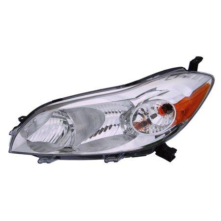 2009-2014 Toyota Matrix Driver Left Side Headlight Lamp Assembly 04 Toyota Matrix Headlight