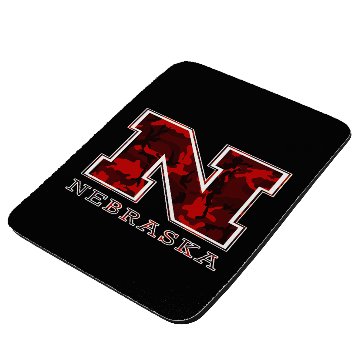 Nebraska Red Camouflage - KuzmarK Mousepad / Hot Pad / Trivet