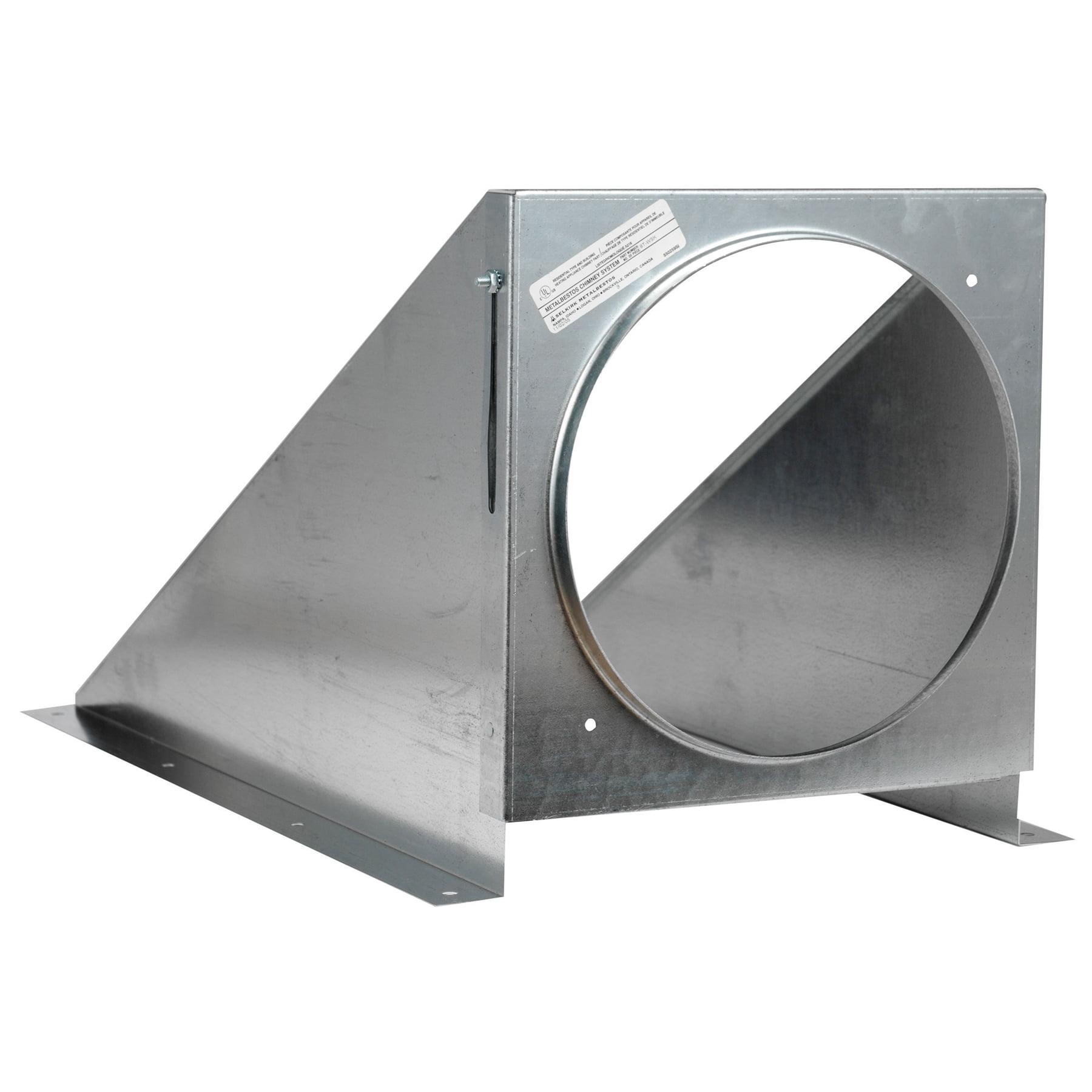 Selkirk 8T-WSK Galvanized Steel Wall Support Package