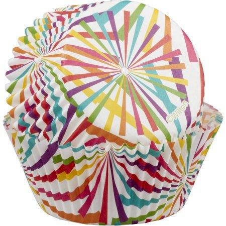 (4 Pack) Wilton Sunrays Cupcake Liners, 50ct