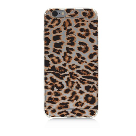 Cheetah Leopard Pattern   High Quality Uv Printed Crystal Clear Tpu Cellphone Case Slim Protection Bumper Drop Proof Cover For Iphone 5C