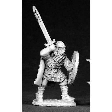 - Reaper Miniatures Erik Redbeard, Viking #02556 Dark Heaven Unpainted Metal