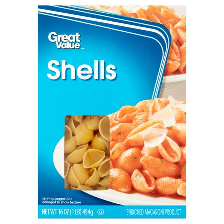 Great Value Shells 16Oz