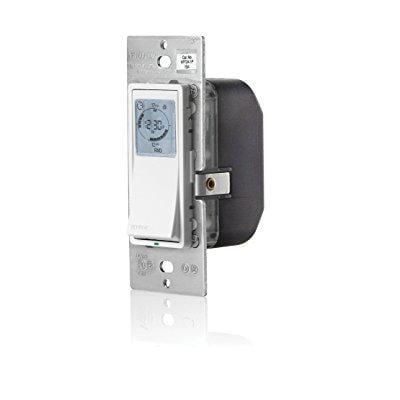 leviton vpt24-1pz vizia 24-hour programmable indoor timer with astronomical clock