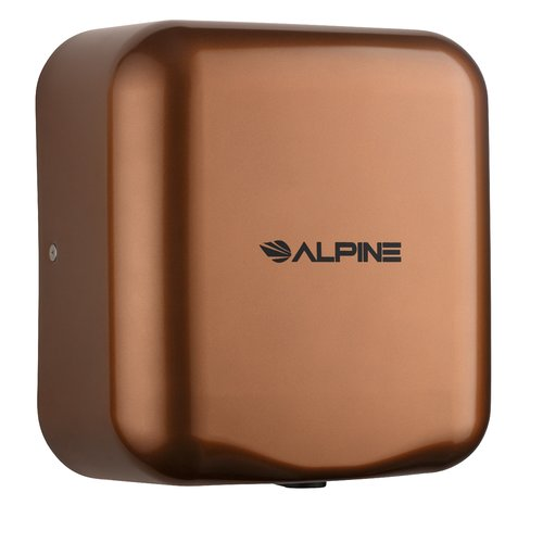 Alpine Industries Hemlock 120 Volt Hand Dryer in Copper