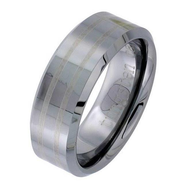 TUNGSTEN 82125 WEDDING BAND - Size 12. 5