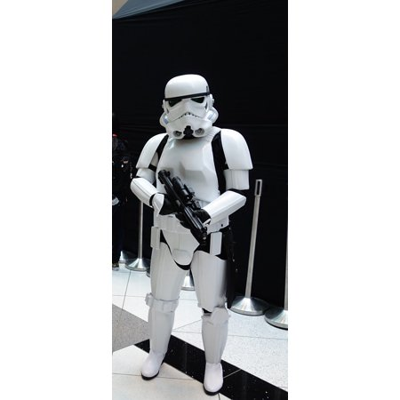 LAMINATED POSTER Sci Fi Costume Star Wars Statue Storm Trooper Poster Print 24 x 36