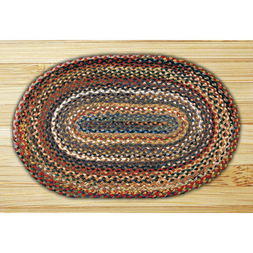 Earth Rugs Random Braided Area Rug