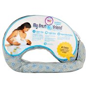 My Brest Friend Dotted Blue Daisies Nursing Pillow