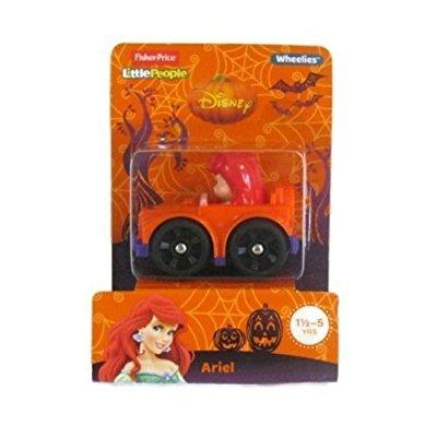Fisher Price little people disney wheelies ariel - halloween