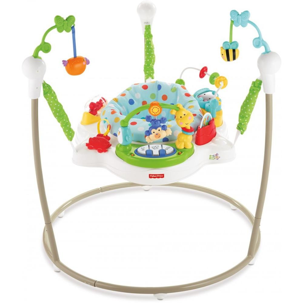 Fisher-Price Zoo Party Jumperoo - Walmart.com