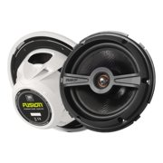 "Fusion Signature SG-F77W - Speaker - for marine - 100 Watt - 2-way - coaxial - 7.7"""