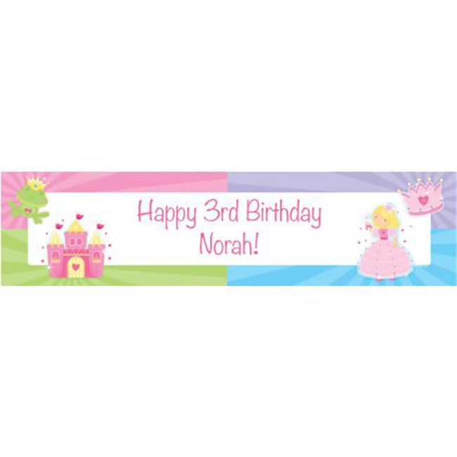 Costume Supercenter BB013555 Fairytale Princess Personalized Banner