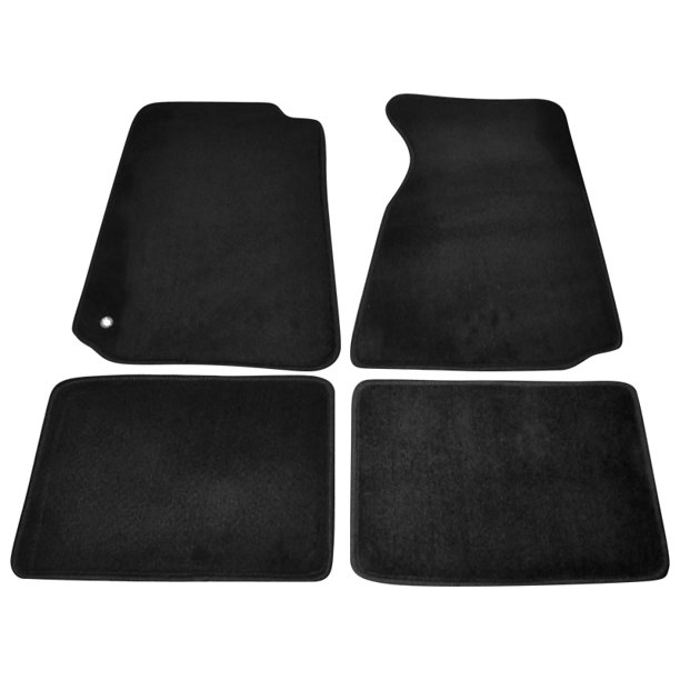 Spec D Tuning For 1994 2004 Ford Mustang Floor Carpets Mats 4pc Black Gt 1994 1995 1996 1997 1998 1999 2000 2001 2002 2003 2004 Walmart Com Walmart Com