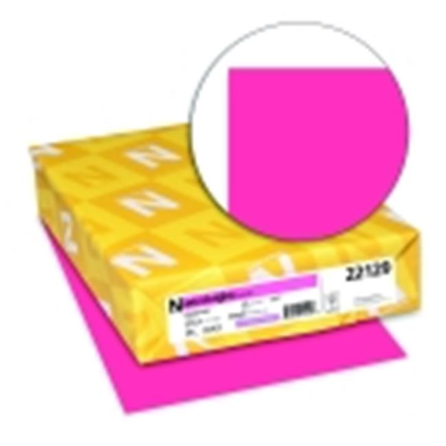 Astrobrights 8.5 x 11 in. Premium Copy Paper Plasma Pink, Pack 500 by Astrobrights