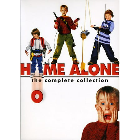 Home Alone: The Complete Collection ( (DVD)) This special collectors edition contains all of the merriment of the Home Alone franchise. Included are the original Home Alone, Home Alone 2: Lost in New York, Home Alone 3 and Home Alone 4.