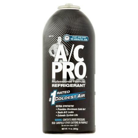 A/C Pro Professional Formula Auto Refrigerant, 14 oz
