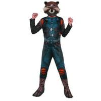Boys Marvel Rocket Raccoon Halloween Costume Guardians Of The Galaxy
