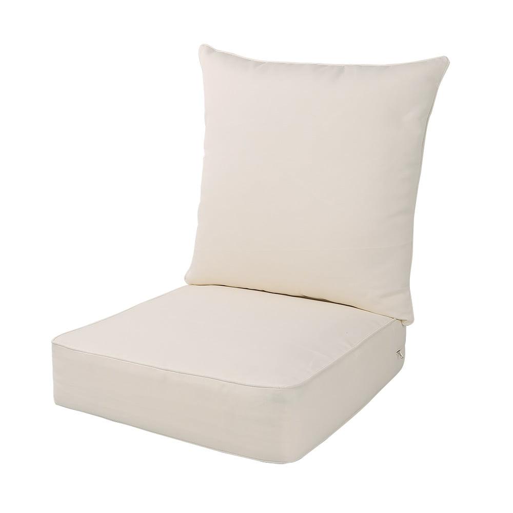 LNC Indoor Seat Cushions Outdoor Deep Seat Chair Cushion