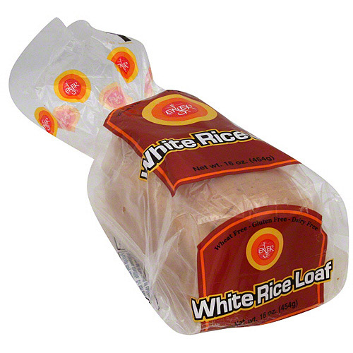 Ener-G White Rice Loaf, 16 oz (Pack of 6)