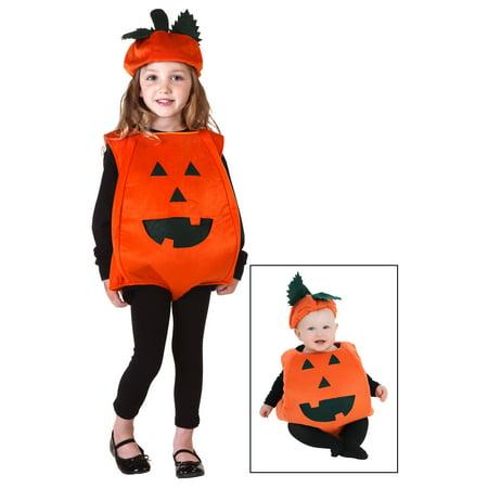 Toddler Orange Pumpkin Costume (Pumkin Costumes)