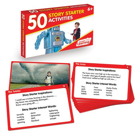 Junior Learning 50 Story Starter Activities Learning - Halloween Story Starters For High School Students