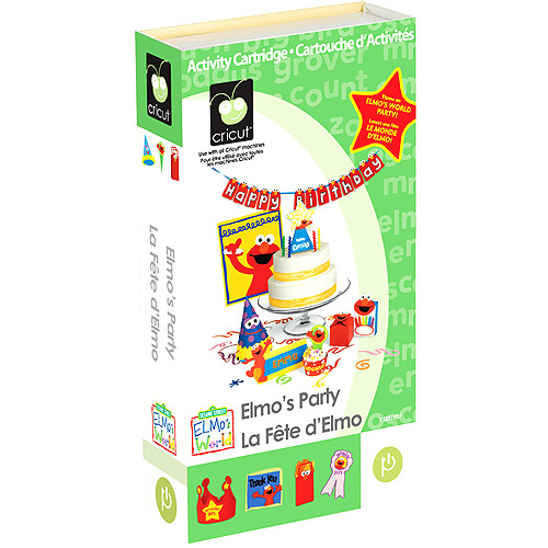 Cricut Cartridge, Elmo's Party