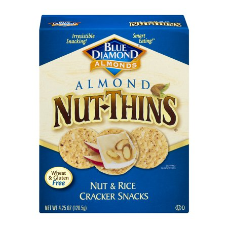 ((2 Pack) Nut Thins Crackers, Original Almond, 4.25 oz box)