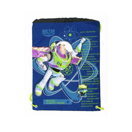 String Backpack - Disney - Toy Story - Buzz Light Year - Cinch Bag New - Disney Cinch Bag