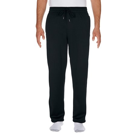 Tech Pants - Gildan Performance Men's Tech Open Bottom Sweatpants