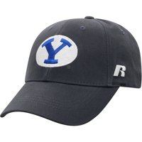 Men's Russell Athletic Charcoal BYU Cougars Endless Adjustable Hat - OSFA