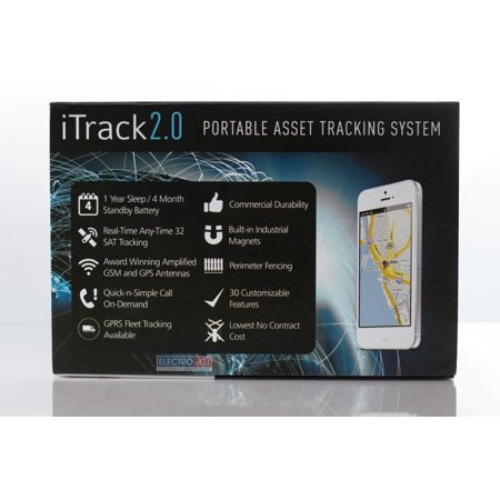 GPS Tracker At Its Best iTrack 2 GSM GPRS Portable Tracking