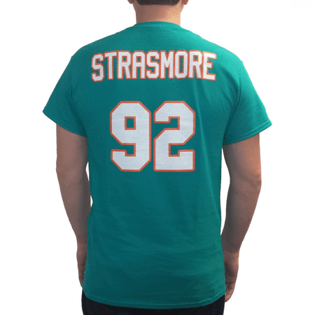 Football Jersey Tee - Spencer Strasmore 92 Miami Jersey T-Shirt Ballers TV Show Rock Football Dolphins