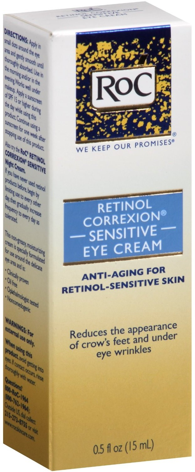 RoC Retinol Correxion Sensitive Eye Cream 0.50 oz