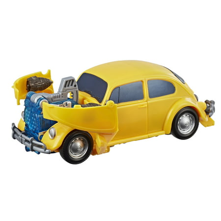 Transformers Bumblebee Movie: Energon Igniters Nitro Bumblebee Figure - Bumblebee Costume Transforms Into Car
