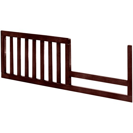 Imagio Baby Harper Toddler Guardrail, Chocolate Mist