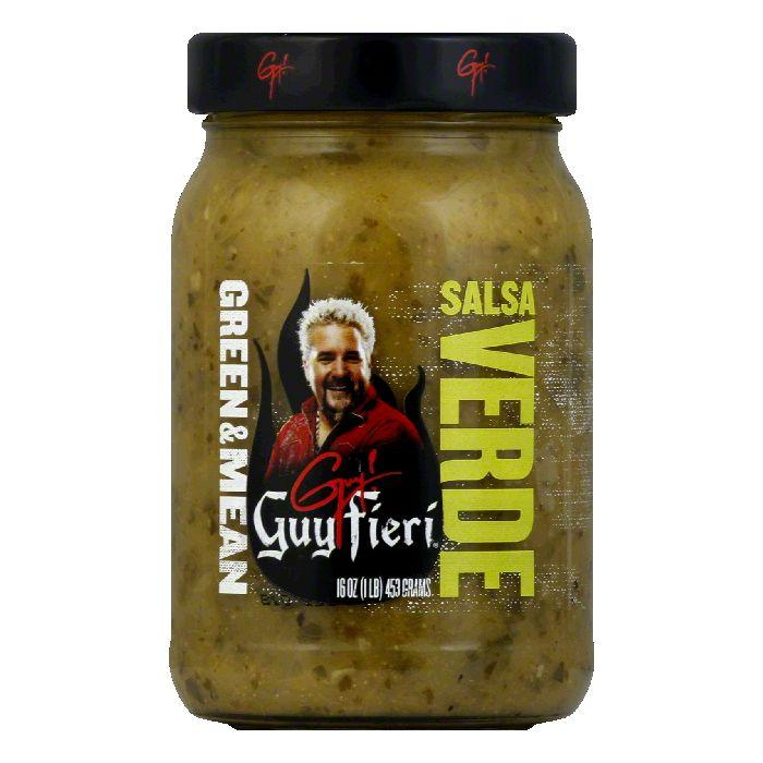 Guy Fieri Salsa verde, 16 OZ (Pack of 6)