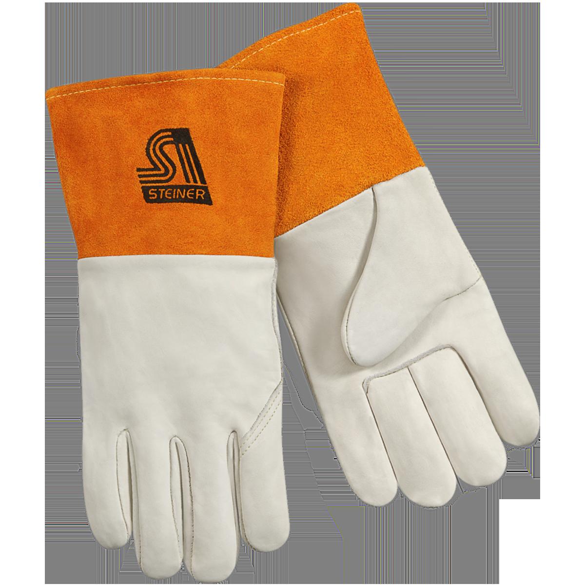 Steiner 0217-2X Grain Cowhide MIG/TIG Gloves, 2X-Large
