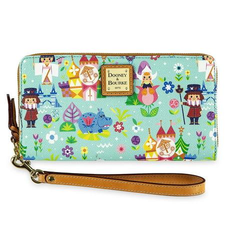 Dooney & Bourke Mini Wallet (Disney It's a Small World Satchel by Dooney & Bourke Wallet Castle)