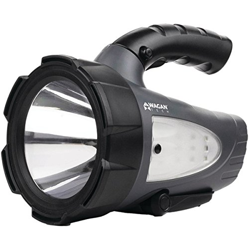 Wagan Tech 4318 Brite-nite Defender 300 Led Rechargeable Spotlight by Wagan Tech